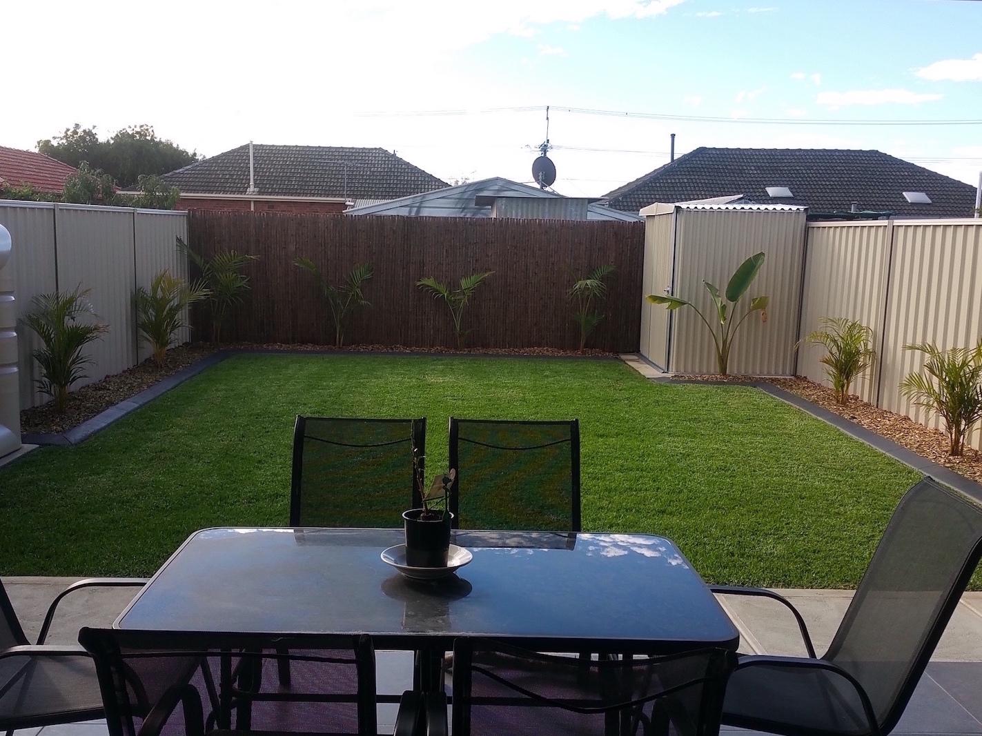 ED garden finished